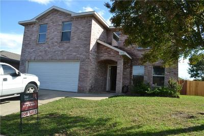 Arlington TX Single Family Home For Sale: $185,000