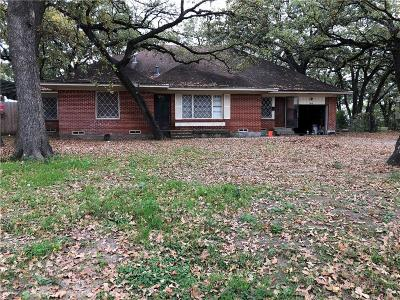 Irving Single Family Home For Sale: 1406 Ben Drive