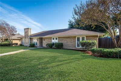 Plano Single Family Home Active Option Contract: 3200 Treehouse Lane