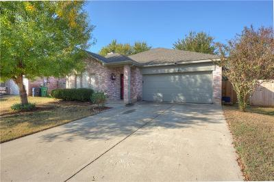 Denton Single Family Home Active Option Contract: 3920 Overlake Drive