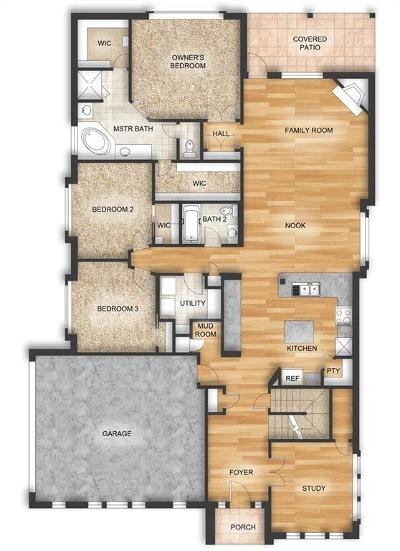Single Family Home For Sale: 120 Remington