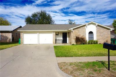 Watauga Single Family Home Active Option Contract: 6045 Nanci Drive