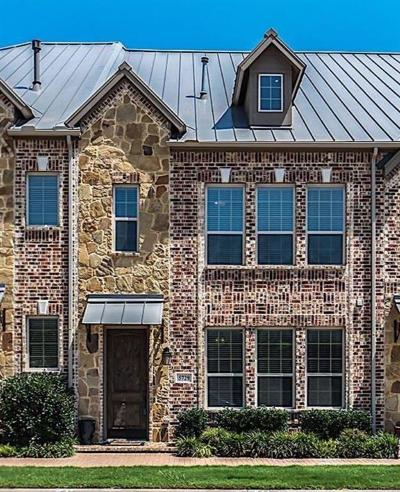 Plano Townhouse For Sale: 5729 Headquarters Drive