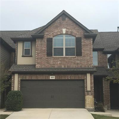 Plano Townhouse For Sale: 4809 Bridgewater Street
