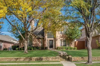 Plano TX Single Family Home Active Option Contract: $350,000