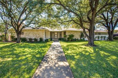 Dallas, Fort Worth Single Family Home For Sale: 4614 Ridgeside