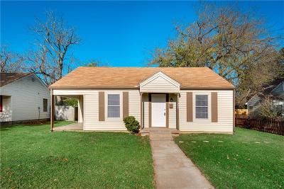 Terrell Single Family Home Active Option Contract: 1121 Maryell Street