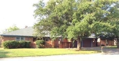 Abilene Single Family Home For Sale: 2989 Arrowhead Drive