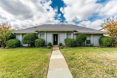 Carrollton Single Family Home For Sale: 3709 Grasmere Drive