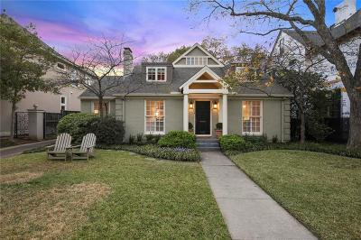 University Park Single Family Home Active Contingent: 4233 Bryn Mawr Drive