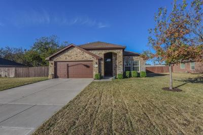 Stephenville TX Single Family Home Active Option Contract: $155,000