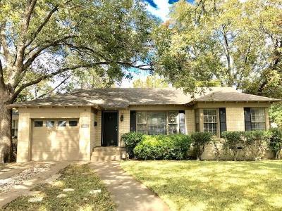 Dallas Single Family Home For Sale: 3733 Manana Drive