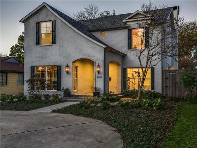 Dallas Single Family Home For Sale: 5623 W Amherst Avenue