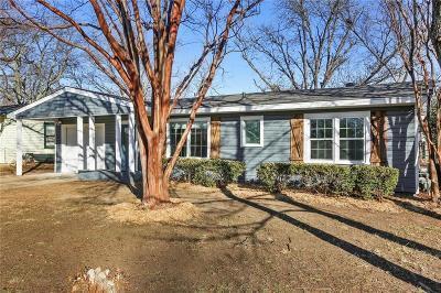 Arlington Single Family Home For Sale: 1825 Jocyle Street