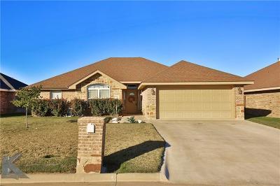 Abilene Single Family Home For Sale: 5110 Coyote Run