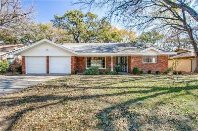 Fort Worth TX Single Family Home For Sale: $184,500