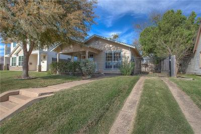 Fort Worth TX Single Family Home For Sale: $297,000