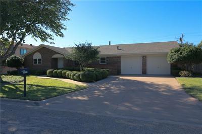 Abilene Single Family Home For Sale: 2317 Darrell Drive