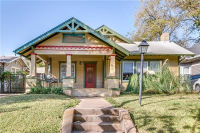 Dallas, Fort Worth Single Family Home For Sale: 211 N Waverly Drive