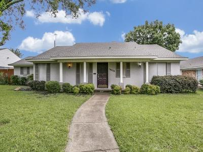 Dallas Single Family Home For Sale: 10429 Vistadale Drive