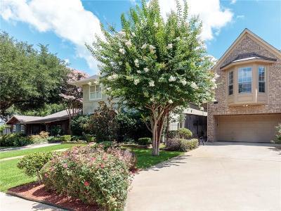 Dallas, Fort Worth Townhouse For Sale: 5213 El Campo Avenue