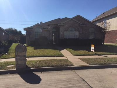 Garland Single Family Home For Sale: 1726 Lantana Drive