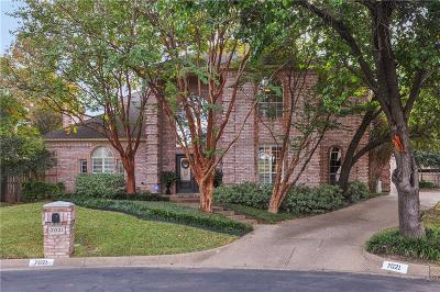 Mira Vista, Mira Vista Add, Trinity Heights, Meadows West, Meadows West Add, Bellaire Park, Bellaire Park North Single Family Home For Sale: 7021 Castle Creek Court