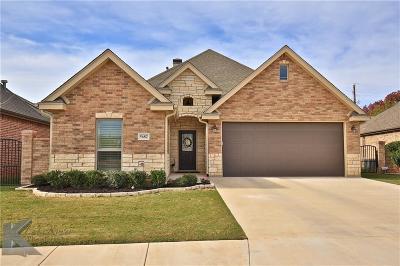 Abilene Single Family Home For Sale: 5682 Legacy Drive
