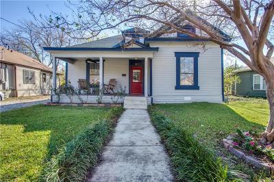 Dallas, Fort Worth Single Family Home For Sale: 5304 Alton Avenue