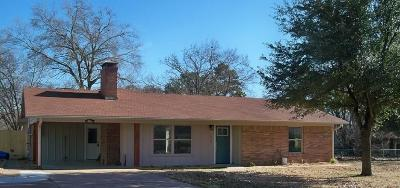 Canton TX Single Family Home For Sale: $203,000