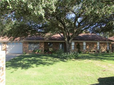 Stephenville Single Family Home Active Option Contract: 1509 Prairie Wind Boulevard