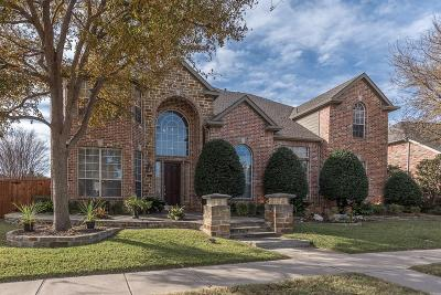 Mckinney Single Family Home For Sale: 8101 Canterbury Terrace
