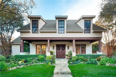Dallas, Fort Worth Single Family Home For Sale: 6908 Preston Glen Drive