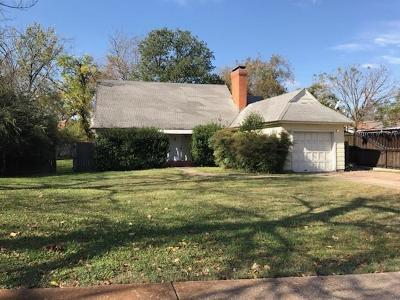 Dallas, Fort Worth Single Family Home For Sale: 633 Strong Street