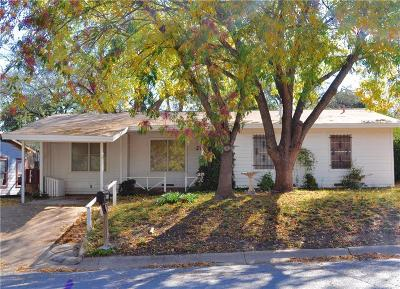 Weatherford Single Family Home For Sale: 1315 S Lamar Street