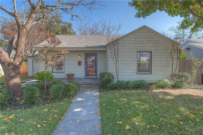 Fort Worth Single Family Home For Sale: 3029 Bigham Boulevard