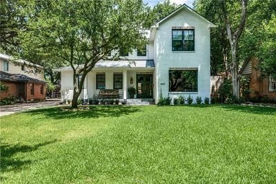 Dallas, Fort Worth Single Family Home For Sale: 4505 Pomona Road