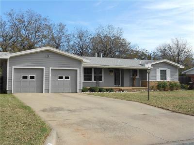 Abilene Single Family Home For Sale: 825 Marsalis Drive