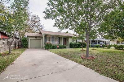 Abilene Single Family Home For Sale: 841 S Jefferson Drive