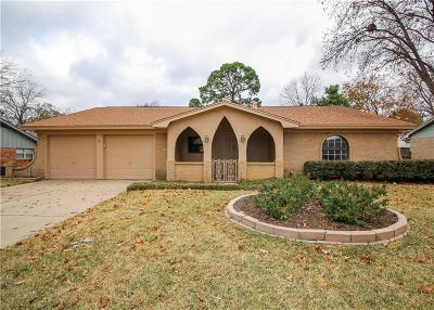 Hurst, Euless, Bedford Single Family Home Active Option Contract: 1909 Mesquite Trail