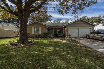 Farmers Branch Single Family Home Active Option Contract: 13221 Belfield Drive