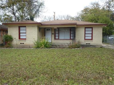 Dallas, Fort Worth Single Family Home For Sale: 7209 Piedmont