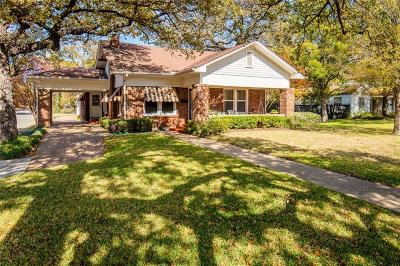Fort Worth Single Family Home For Sale: 2501 Daisy Lane