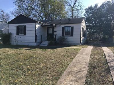 Dallas Single Family Home For Sale: 3412 Cardinal Drive