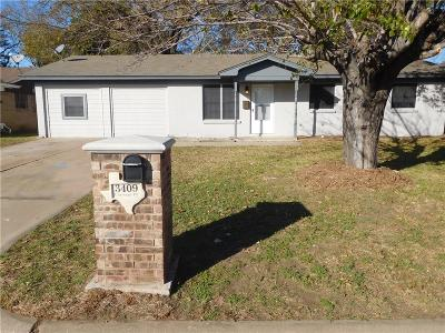 Forest Hill Single Family Home For Sale: 3409 Carriage Hill Drive