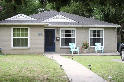 Dallas Single Family Home For Sale: 5738 Monticello Avenue