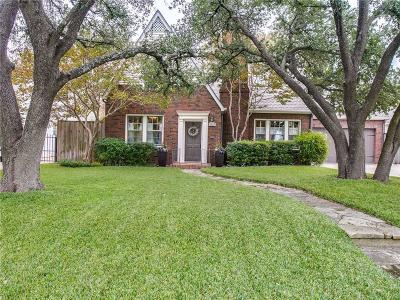Fort Worth Single Family Home For Sale: 3617 Bellaire Drive S