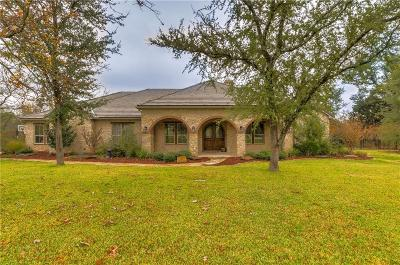 Cleburne Single Family Home For Sale: 8401 Retreat Boulevard