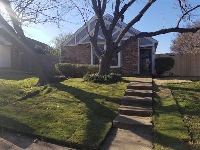 Coppell Single Family Home Active Option Contract: 149 Pinyon Lane