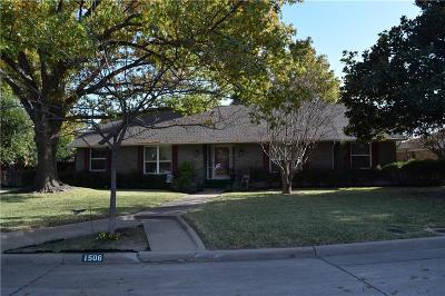 Plano Single Family Home For Sale: 1506 R Avenue